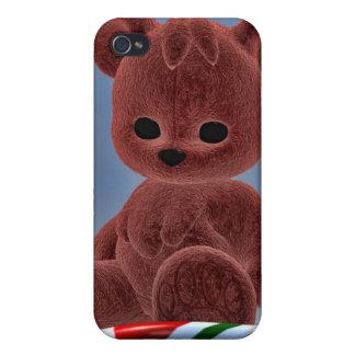 Osos del navidad iPhone 4/4S fundas