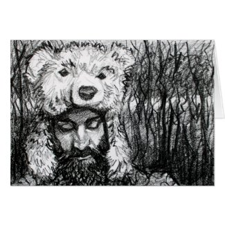 Osos en su mente, (Bears on His Mind) Card