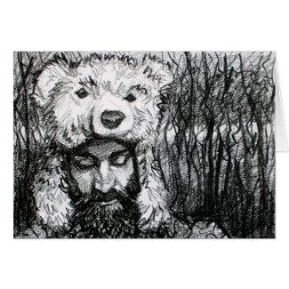 Osos en su mente, (Bears on His Mind) Card