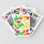 Osos gomosos barajas de cartas