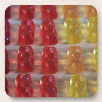 Osos gomosos del oso del oro posavasos