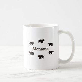 Osos grizzly de Montana Taza Clásica