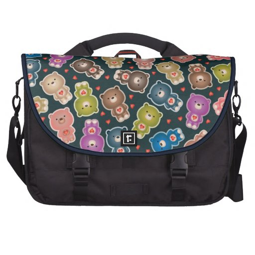 Osos lindos bolsas de ordenador