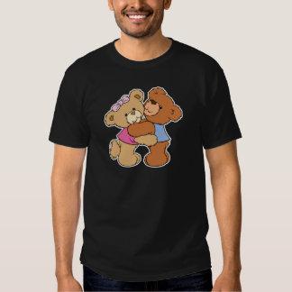 Osos lindos del abrazo de oso camisas