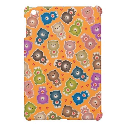 Osos lindos iPad mini cárcasas