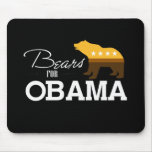Osos para Obama 2 Tapetes De Ratón