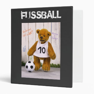 "Osos pequeños Fußball-Ordner Carpeta 1"""