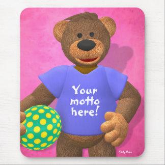Osos pequeños: Su oso 2 del lema Alfombrilla De Ratón