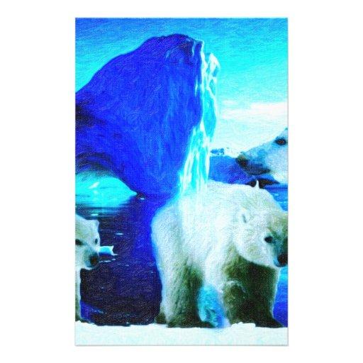 osos polares 2 papelería personalizada