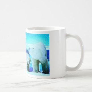 osos polares 2 taza clásica