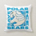 Osos polares almohada