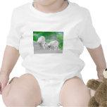 Osos polares, cachorros y aurora boreal trajes de bebé