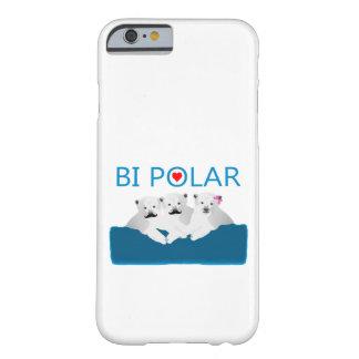 Osos polares del BI Funda Para iPhone 6 Barely There