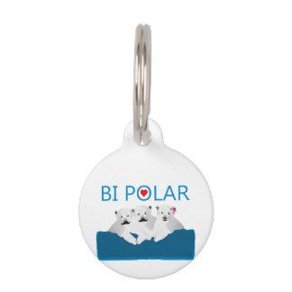 Osos polares del BI Identificador Para Mascotas
