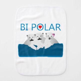 Osos polares del BI Paños De Bebé