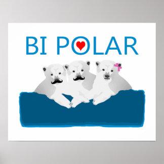 Osos polares del BI Póster