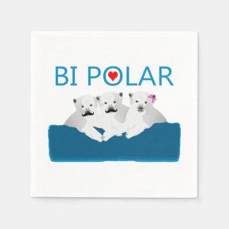 Osos polares del BI Servilletas Desechables