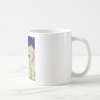 Osos polares del circo taza de café