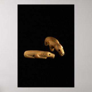 Osos polares del Inuit 14to - siglo XV Impresiones