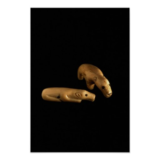 Osos polares del Inuit, 14to - siglo XV Impresiones