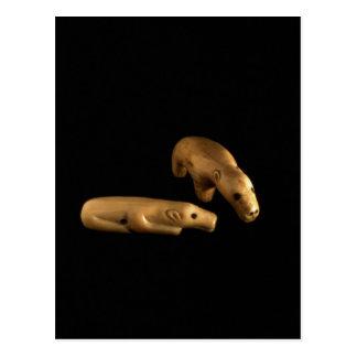 Osos polares del Inuit, 14to - siglo XV Postal