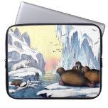 Osos polares, morsa, y sellos manga portátil