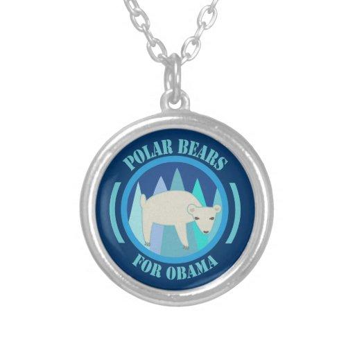 Osos polares para el collar 2012 de Obama