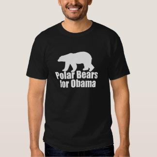 Osos polares para Obama Remeras