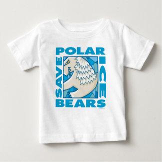 Osos polares playera de bebé