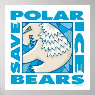 Osos polares póster
