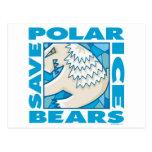 Osos polares tarjetas postales