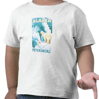 Osos polares y Cub - Petersburgo, Alaska Camiseta