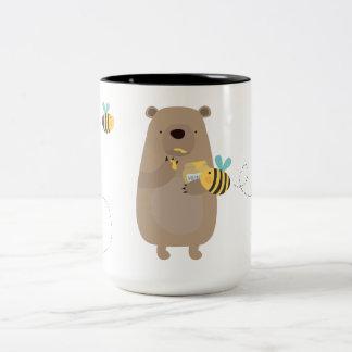 Osos y abejas tazas de café