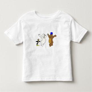 Osos y pingüino playera