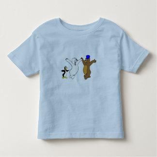 Osos y pingüino playeras