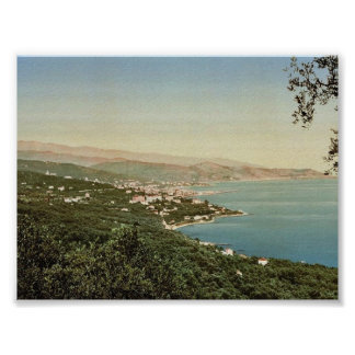 Ospedaletti, San Remo, Riviera classic Photochrom Posters