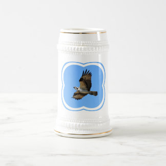 Osprey Bird Beer Stein Mug