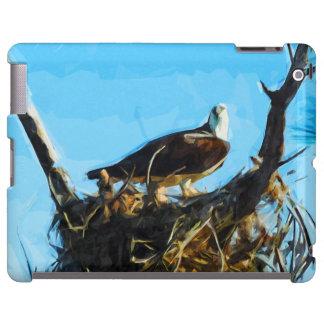 Osprey en impresionismo del extracto de la funda para iPad