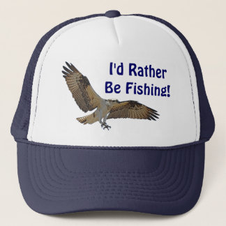 Osprey Fish Hawk Fisherman's Hat