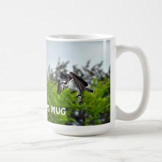 Osprey & Fish Wildlife Photo Fisherman's Mug
