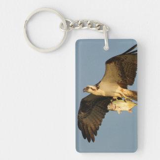 osprey fishing keychain