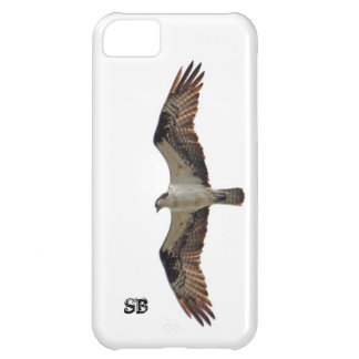 Osprey Flying and Monogram Case For iPhone 5C