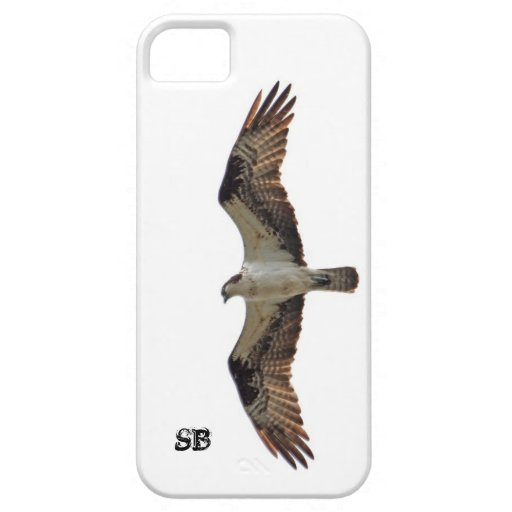 Osprey Flying and Monogram iPhone 5 Cover