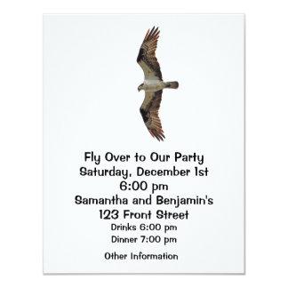 Osprey Flying Photo Invitations