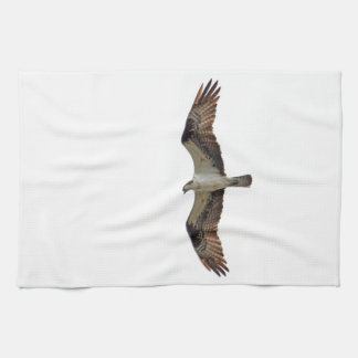 Osprey Flying Photo Hand Towel