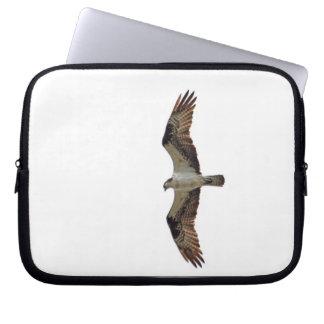 Osprey Flying Photo Computer Sleeve