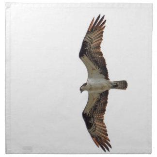 Osprey Flying Photo Printed Napkin