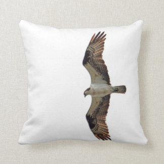 Osprey Flying Photo Pillow