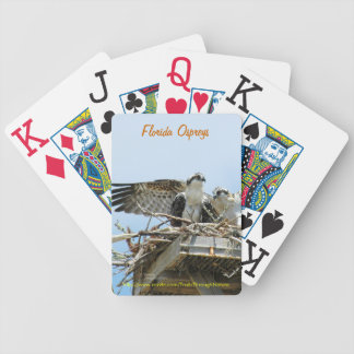 Osprey hawks Bicycle® Playing Cards