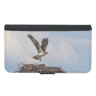 Osprey in a nest samsung galaxy s5 wallet case